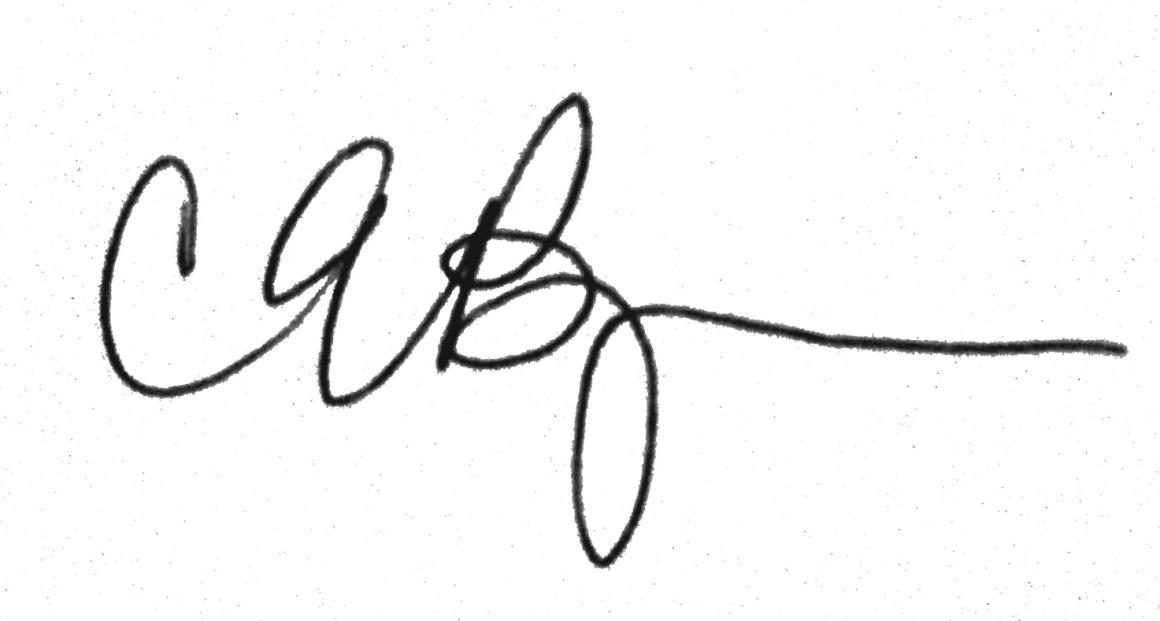 Caitlin Borgmann's signature