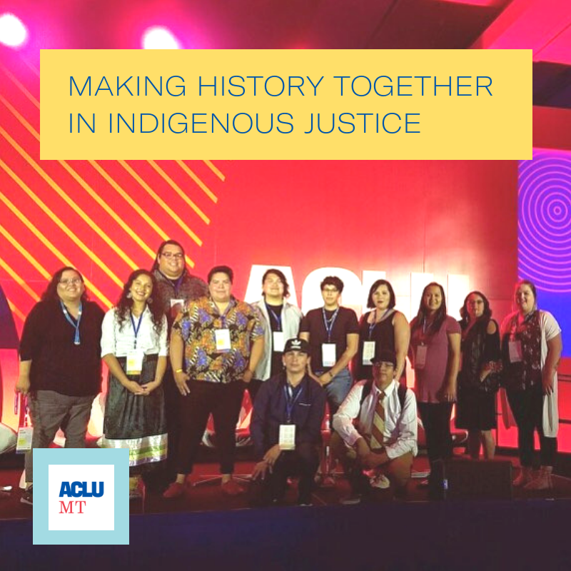 ACLU National Membership Conference Indigenous Leaders