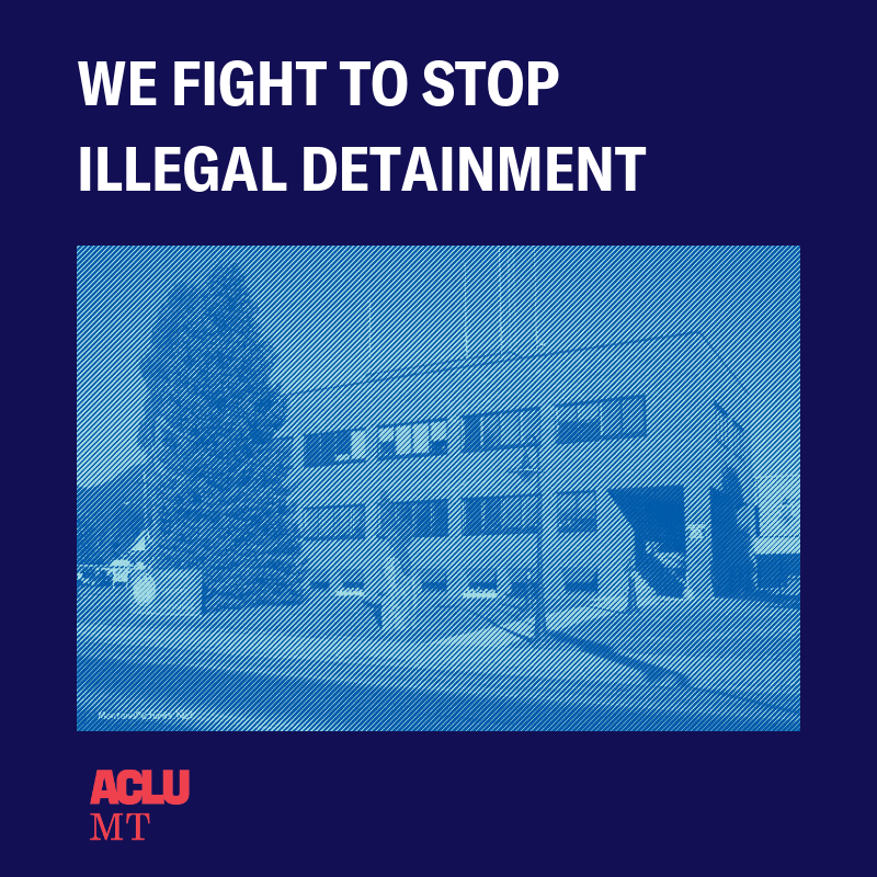 Lincoln County Jail image.  We fight to stop illegal detainment