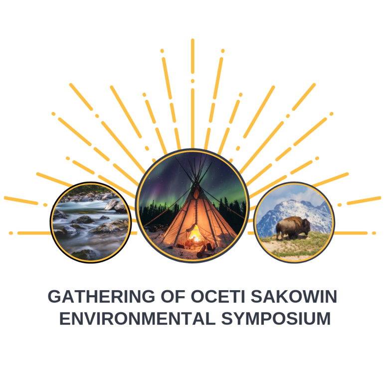 Graphic of Oceti Sakowin Environmental Symposium