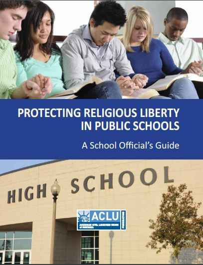 Protecting Religious Liberty in Schools report