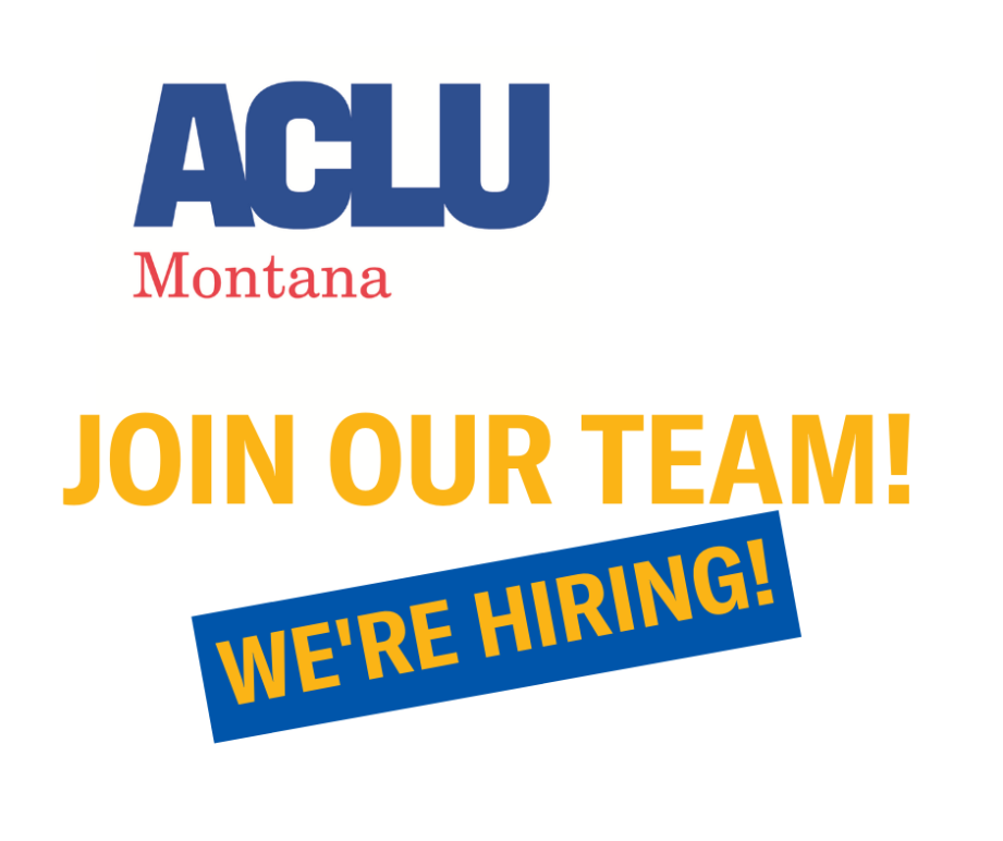ACLU MT Join our team