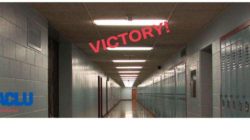 Montana Supreme Court Ruling is Huge Win for Public School