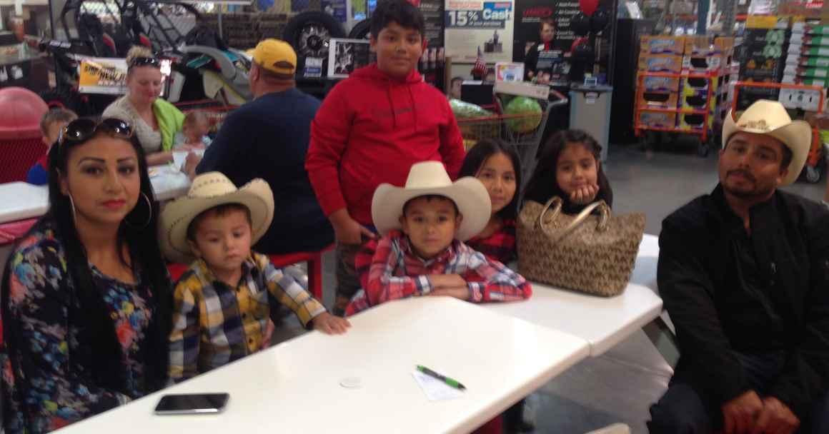Audemio and family