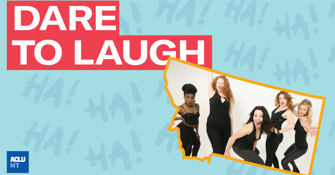 Dare to Laugh image with Broad Comedy